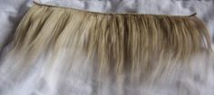 Making A Brushed Yarn Wig (Part 2) - Making Wefts