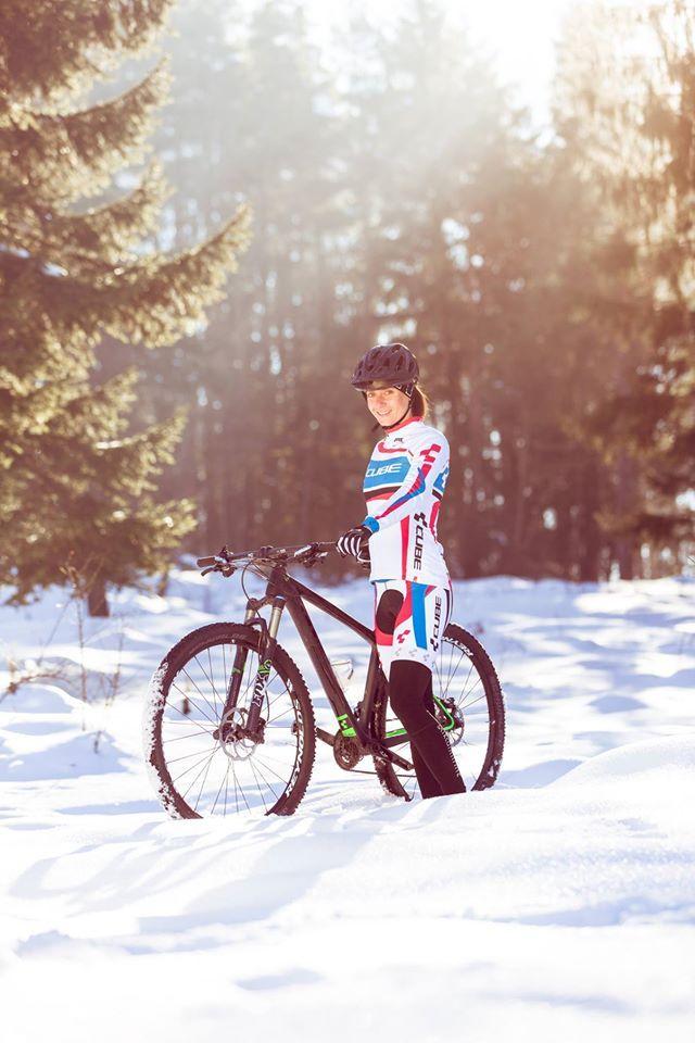 Triatlet Daniela Sammler'ın yeni sezon antrenmanları hız kesmeden devam ediyor.
