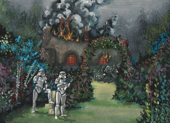Storm Troopers Invading...Inspired by Jeff Bennett's work