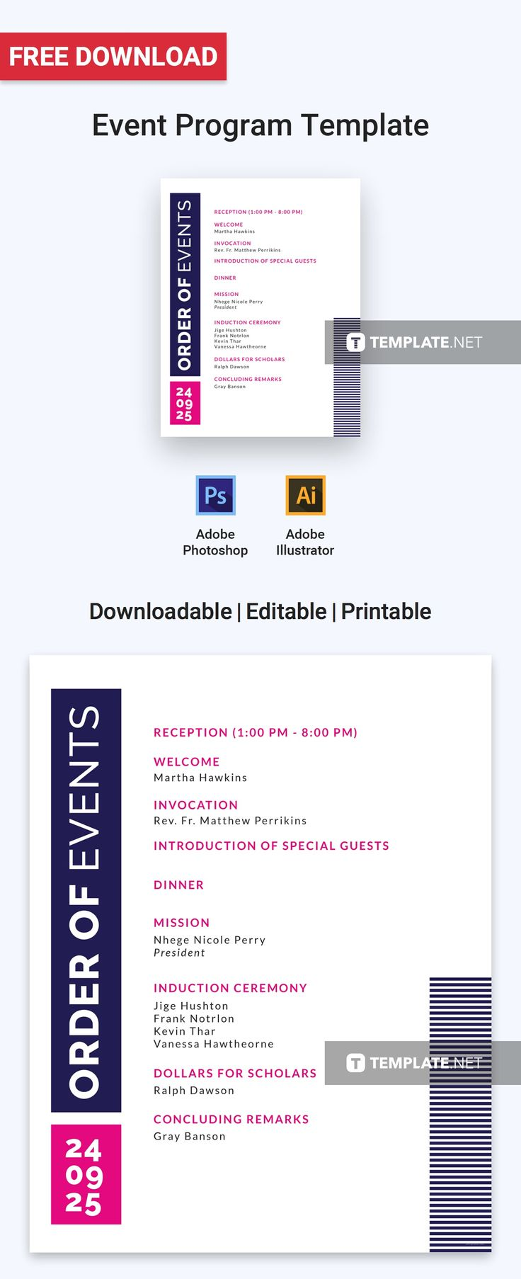 free event program invitation program templates designs 2019 pinterest templates free program templates and program template