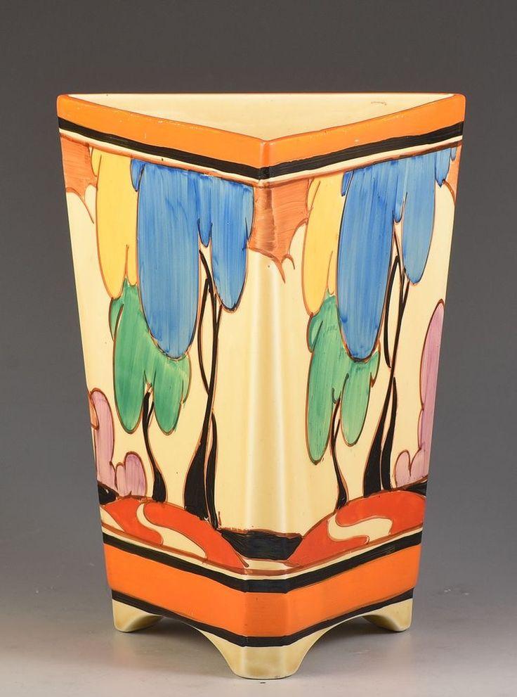 Clarice Cliff 'Blue Autumn' 200 Vase, 1931