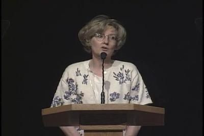 """Devotional by Marie K. Hafen on October 3rd 2000, titled: """"For Your Journeys in the Land"""""""