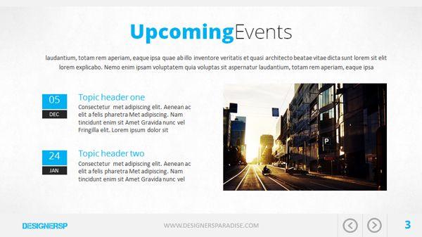 Moderna Powerpoint Presentation on Behance