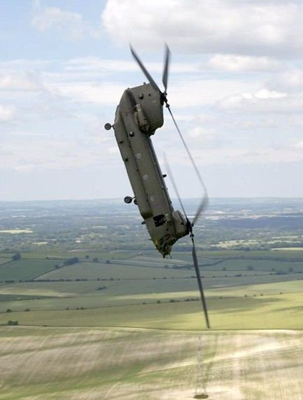 CH-47 Chinook. Hold tight please! Would love to learn to fly one of these !