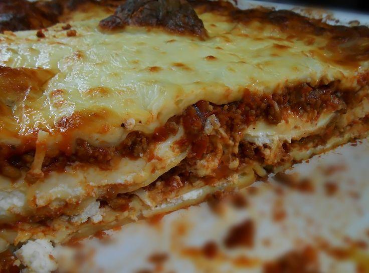 Four cheese Lasagna | casseroles | Pinterest