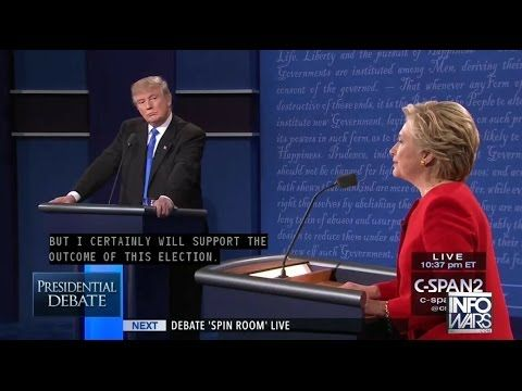 Hillary Clinton Lies To Your Face About Election Rigging: Debate Highlights - Hillary Clinton thinks the American people are so dumb that they can't see what her and her cronies are trying to do as they continue to attempt a steal to subvert the wishes of the American people. ~ RADICAL Rational Americans Defending Individual Choice And Liberty