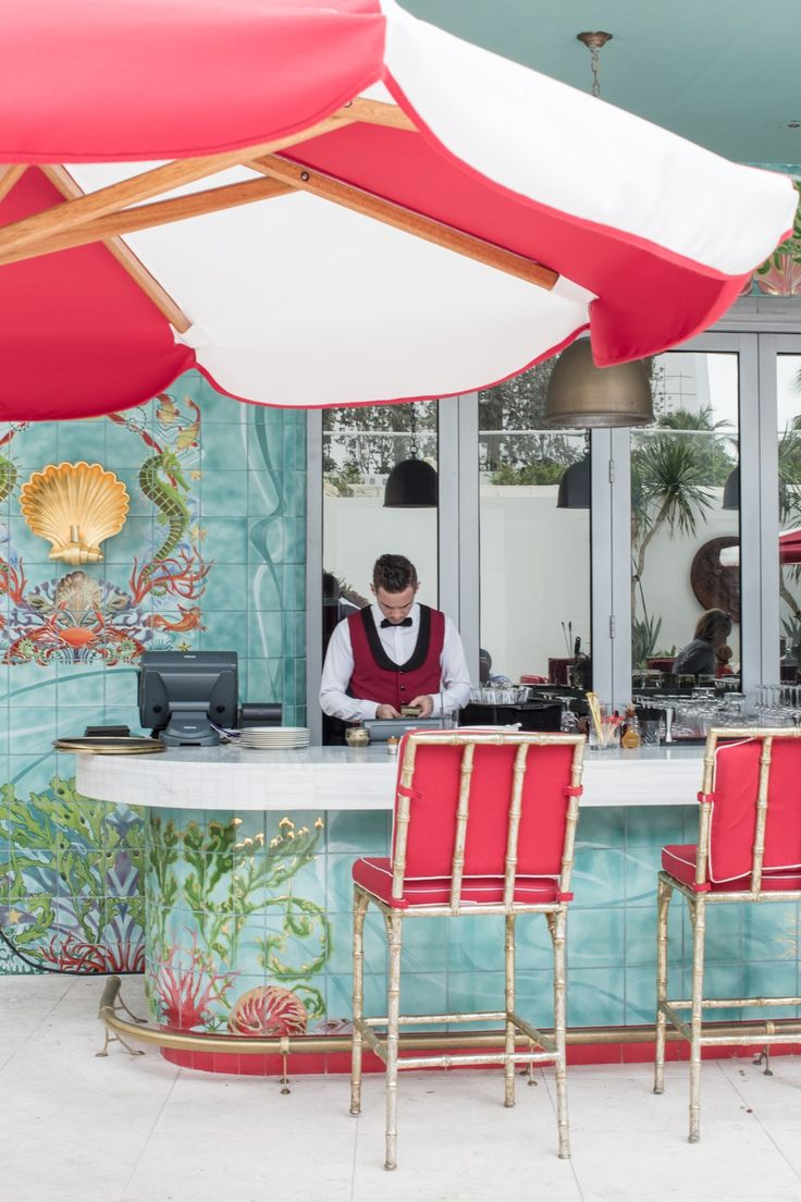 The Faena Hotel, Miami incorporates medical professionals with health-and-wellness routines. www.faena.com Matthew Cooper (aka Dr. Enzyme) helps you understand how your gut is affecting your complexion- then off to a shaman-developed sound bowl massage session.