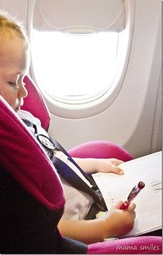 Expert tips on flying with kids.