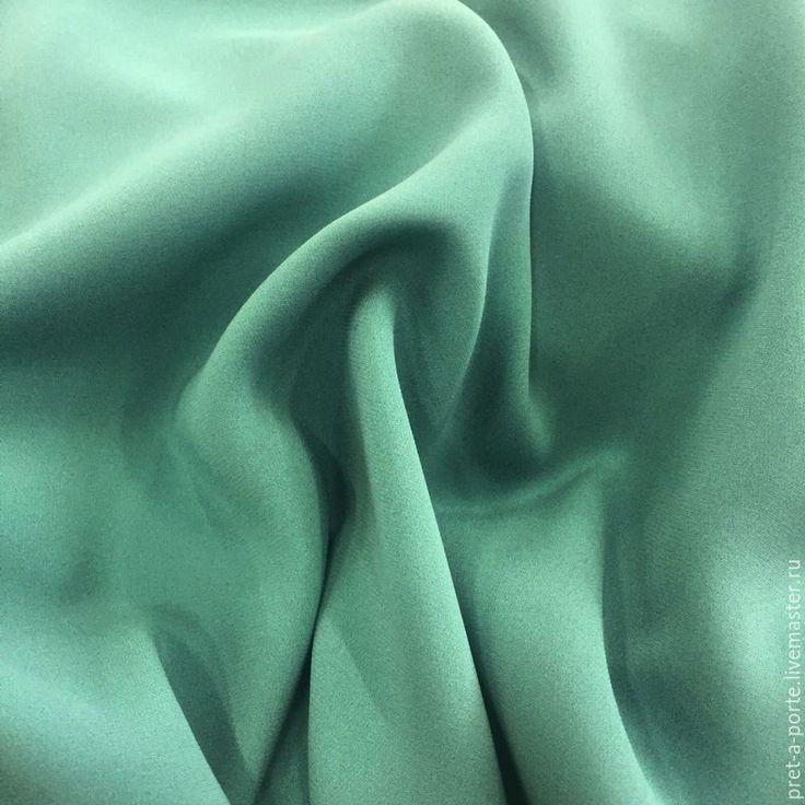 Купить Versace шелковый креп стрейч костюмный , Италия - итальянские ткани, итальянский шелк