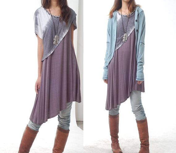Hypnose  braided neckline layered dress Q1027b by idea2lifestyle, $58.00