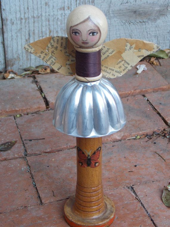 17 best images about junk garden angels on pinterest