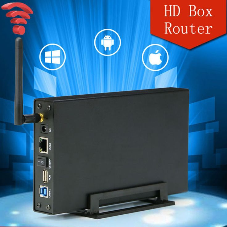 2.5'' 3.5'' USB 3.0 to SATA Wifi HDD docking station 5Gbps HDD Enclosure Case Support 6TB Hard Disk Wireless Wifi router