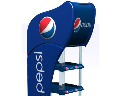 Pepsi - Point of Purchase - Plastic