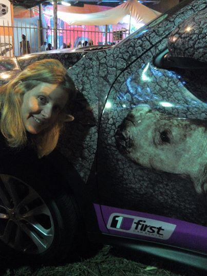 Thank for this pic Megan Hodson! #Rhinos1st