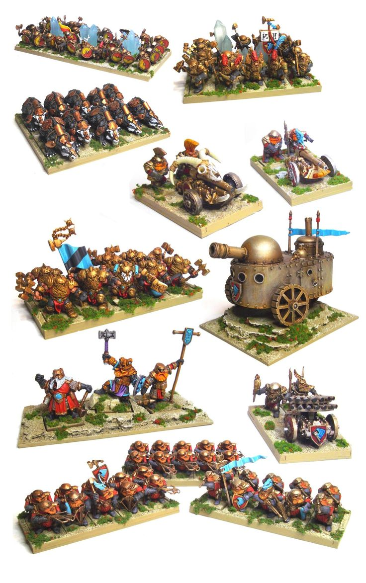 Mantic Dwarf Army