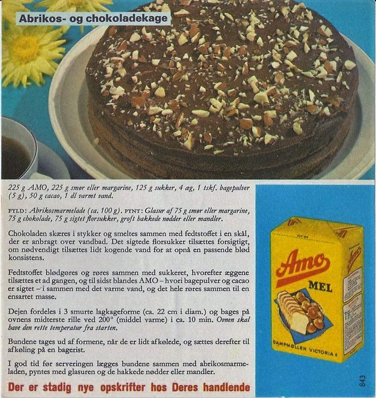 Abrikos og Chokoladekage