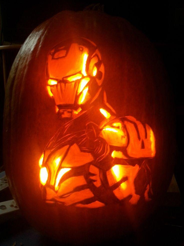 Avenger pumpkins ironman movies