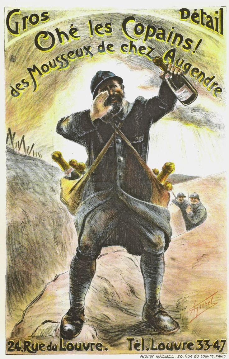 WWI, French Advertisement. -La publicité pendant la guerre 14-18