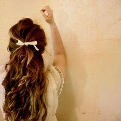 Hair spa for shiny bouncy hair!