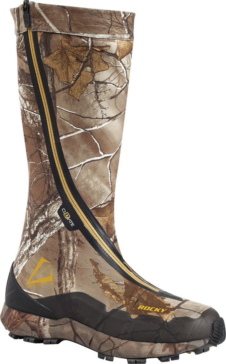 Rocky broadhead mens realtree vapourflex hidden laces hunting shoes