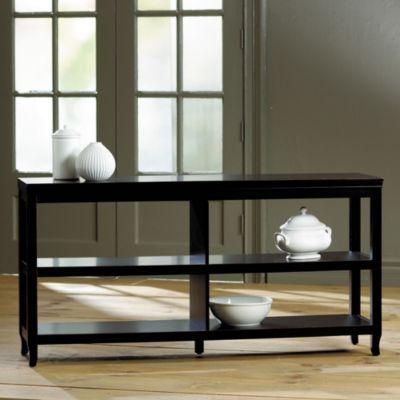 Morgan Double Wide Low Shelf | Ballard Designs