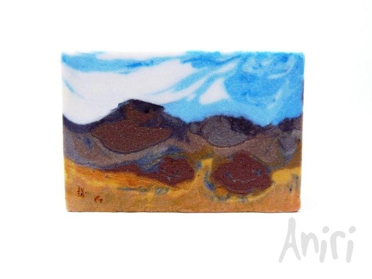 Savanna by Aniri - Cold Process Soap - Landscape Soap - #soApbyAniri