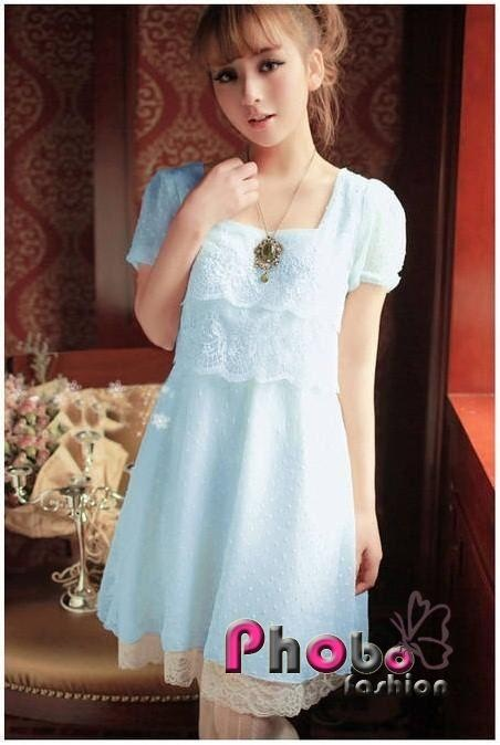 Phobo Fashion Pretty Prinzessinen Sweet Spitze koreanische Kleid  Bestell-Nr.asf2736  Herst.Nr: #4020    If you like this Product, please feel free to repin. We will offer 10% discount for every product you repin. we deliver worldwide only 4,90€ shipping cost, any questions? just write on comments 25,90€