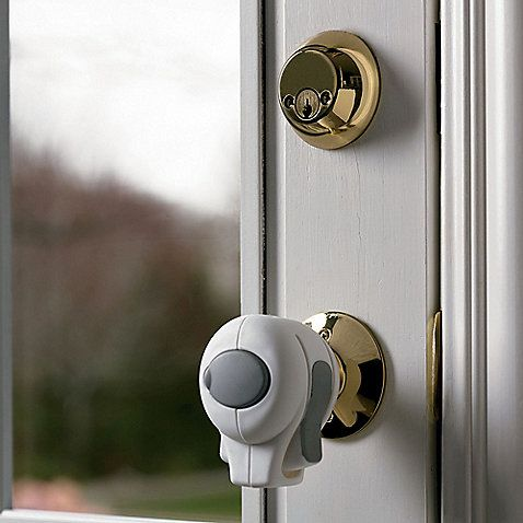 how to fix a kicked in door knob