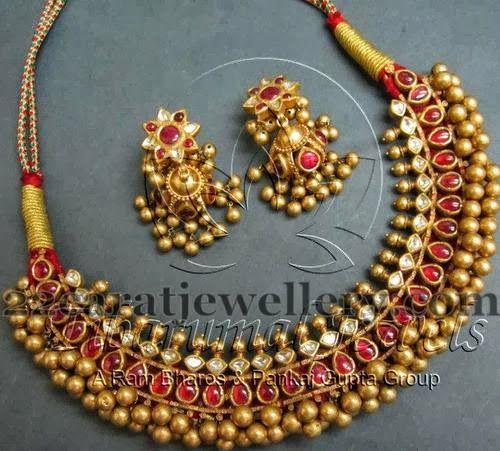 Tussi Necklace from Tibarumal Jewels | Jewellery Designs