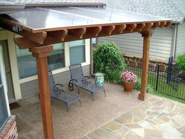 Solid Roof Pergola Patio Cover With Panels Solid Roof