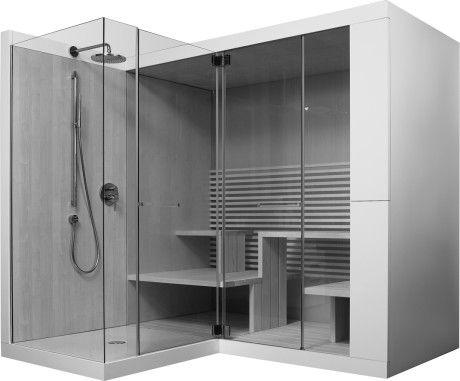 Inipi Inipi Ama Sauna, Vorwand- und Eckversion #7503 | Duravit
