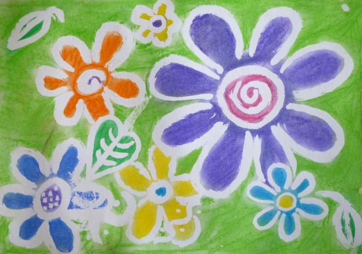 Vymývaná klovatina + suchý pastel. http://www.vytvarka.eu/kresleni/klovatina.htm