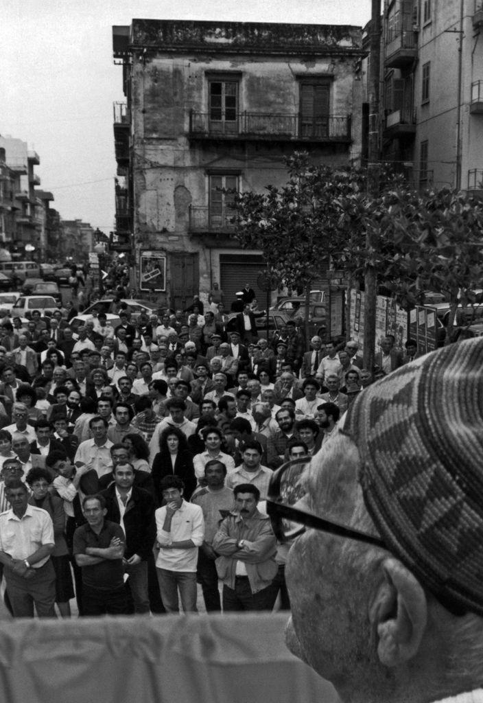 Ignazio Buttitta, Bagheria, 1986. Photo by Carlo Puleo.