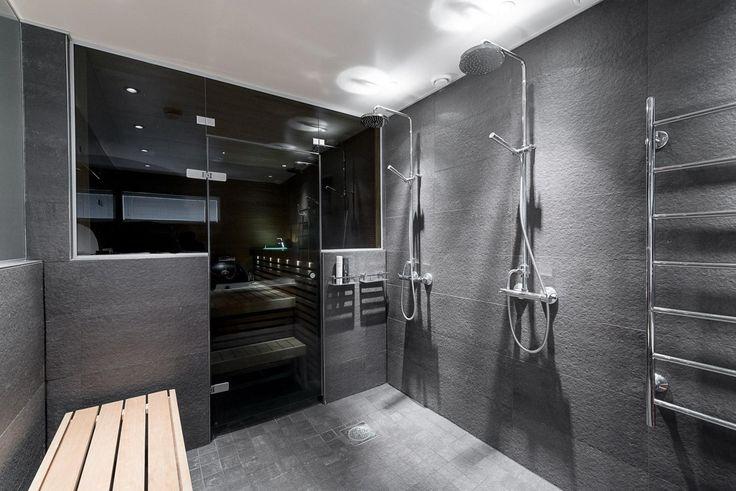 Moderni kylpyhuone, Etuovi.com Asunnot, 565eeef1e4b09002ed151201 - Etuovi.com Sisustus