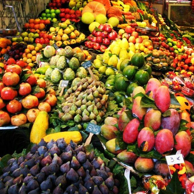 Owocowe szaleństwo w Barcelonie