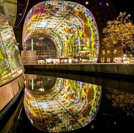 Markthal Rotterdam, foto van Tom Schoumakers