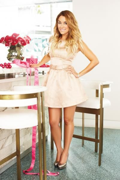muted gold party dress for the holidays {lc lauren conrad}