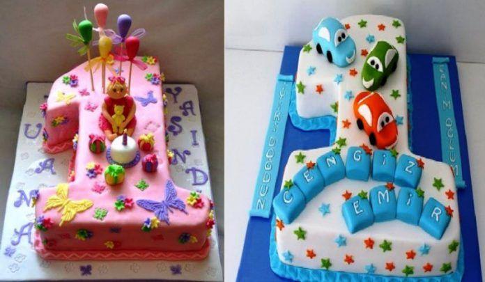 1 Yaş Doğum Günü Pastası Modelleri, Örnekleri ve Fiyatları