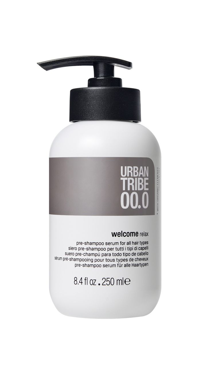 Urban Tribe haircare - 00. Welcome: the first preparation phase to relax, calm and unwind. #hair #beauty