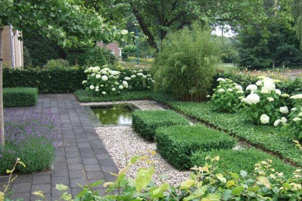 Classic front garden