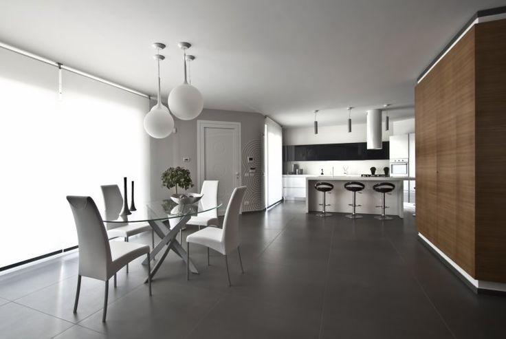 Sala da pranzo Casa L  Architetto Claudio Criscione  Ragusa (RG)   Dining room