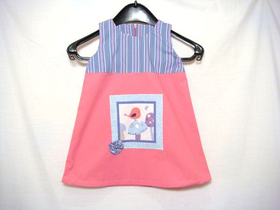 Baby Girl Trapeze Dress Baby Girl clothes 12-18 months Toddler