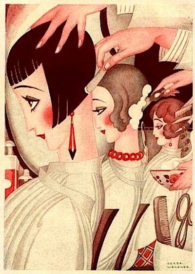 Cheveux courts, (from Fantasio), Gerda Wegener, 1925