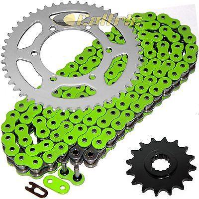 Green-O-Ring-Drive-Chain-Sprockets-Kit-Fits-YAMAHA-R6-YZF-R6-2003-2004-2005