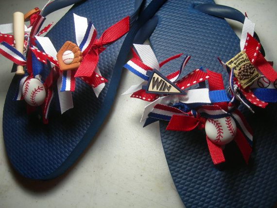 Hey, I found this really awesome Etsy listing at http://www.etsy.com/listing/154133628/little-league-mom-ladies-flip-flops
