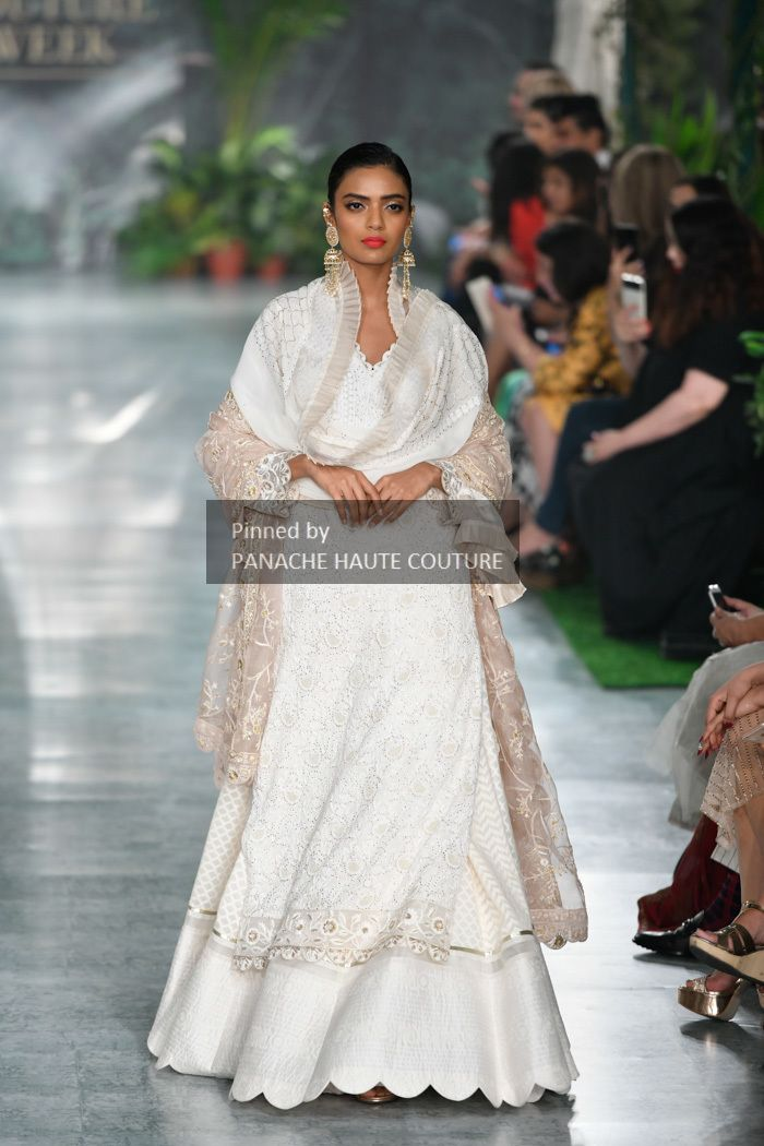 13e68c5f1d Ivory colour embroidered wedding lehenga set from India Couture Week 2018.  Contact us through WhatsApp +61470219564 to order or customisations.