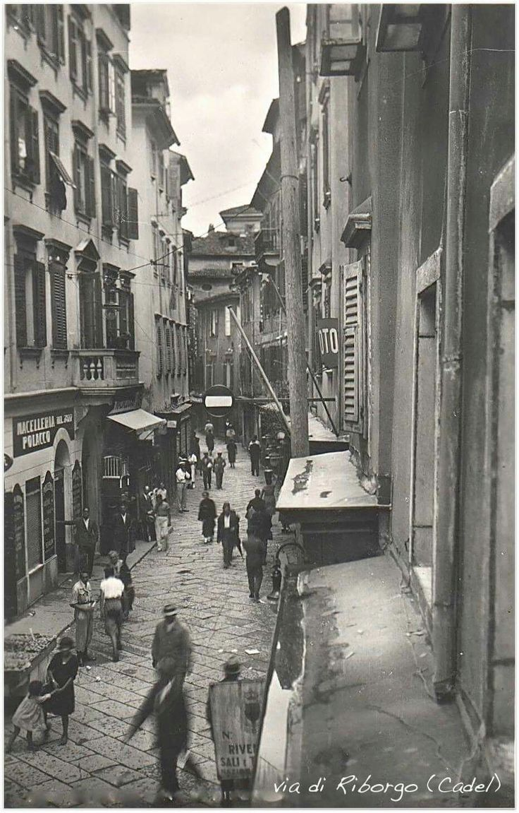 Trieste - Italy Via di Riborgo