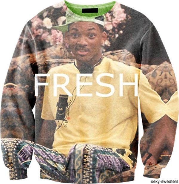 Fresh Prince of Bel-air! Ok I must have this sweat shirt