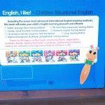 """READ PEN KIDS """"ENGLISH I LIKE""""  menggunakan buku dengan kertas yang halus dan warna-warni sehingga menarik buat anak-anak. Terdiri dari 6 buku yang mengandung : -cerita/story  -letters/huruf-huruf  -words/kata-kata  -kalimat-kalimat/ sentences  -lagu anak  -permainan/ game  -percakapan  085693162373 PIN BB: 207aa154"""