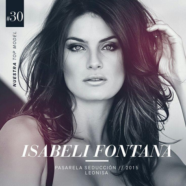 ¡Sensual, magnetica, sofisticada...!  La top model Internacional Isabeli Fontana es nuestro gran cierre en el grupo de 30 modelos que harán parte de nuestra pasarela Seducción Leonisa 2015.  #DesnudaTuAlma #LeonisaSpirit #Colombiamoda #MadeInHeavenProductions